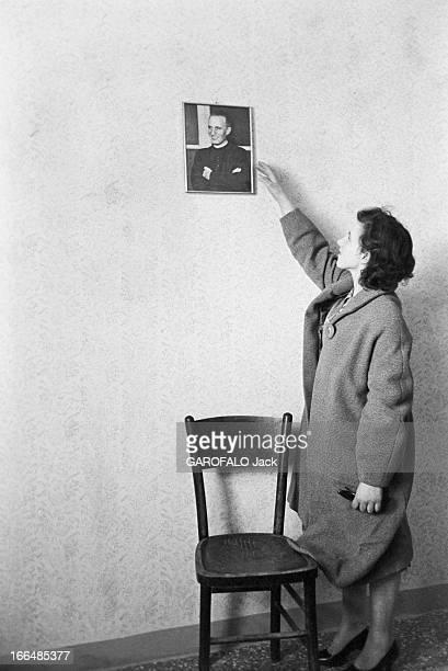 Italy Cornea Transplantation Le 28 février 1956 une jeune aveugle de 18 ans Amabile BATTISTELLO subie la délicate opération de la greffe de la cornée...