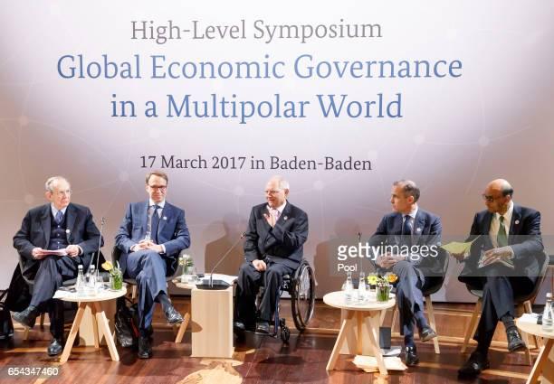 Italy Finance Minister Pietro Carlo Padoan President of the German Bundesbank Jens Weidmann German Finance Minister Wolfgang Schaeuble Chair of FSB...