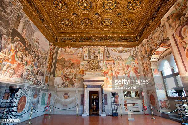 Italy, Florence,  Audience Chamber in Palazzo Vecc
