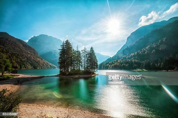 Italy, Friuli-Venezia Giulia, Lago del Predil