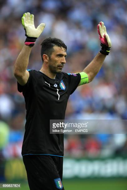 Italy goalkeeper Gianluigi Buffon
