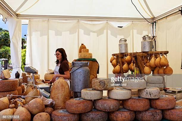 Italy Italia Alto Adige South Tyrol Provincia di Bolzano Merano Passeggiata lungo Passirio mercatino del buon gustaio gourmet market