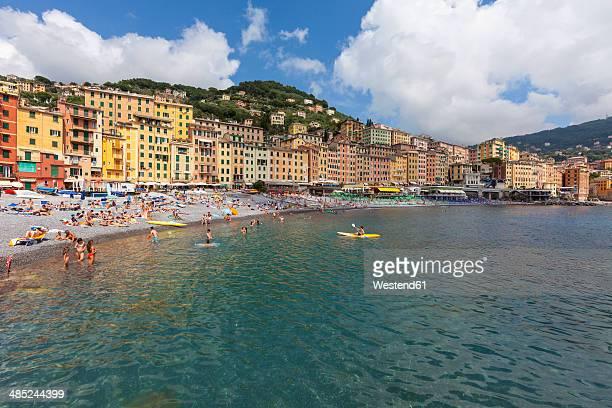 Italy, Liguria, Province of Genoa, Camogli, lido