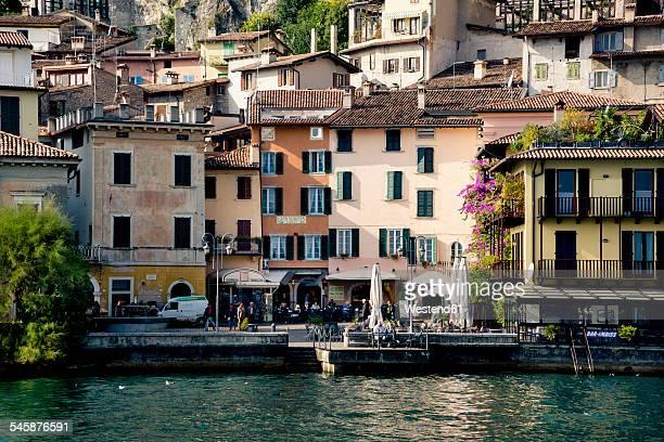 Italy, Lombardy, Brecia, Limone sul Garda, View of the city