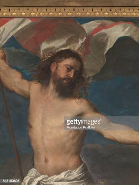 Italy Lombardy Brescia Collegiata di San Nazaro e San Celso Detail Christ