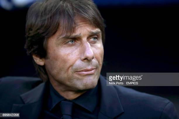 Italy manager Antonio Conte before the game