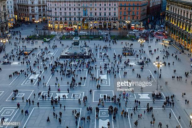 Italy, Milan, Piazza del Duomo
