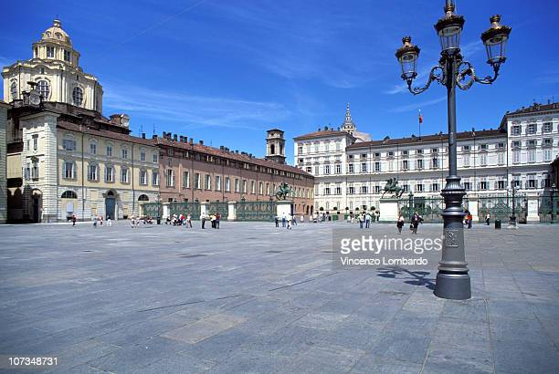 Italy, Piemonte, Turin, Piazza Castello