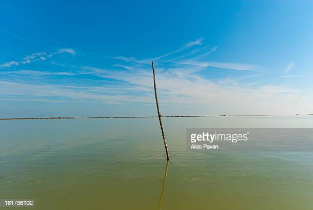 Italy, Porto Tolle, Delta of river Po