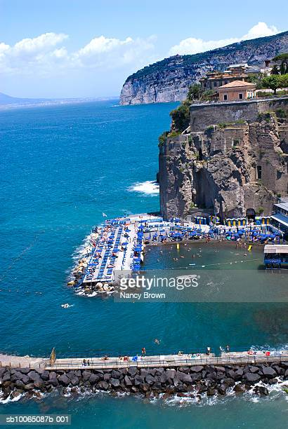 Italy, Province of Salerno, Amalfi Coast, elevated view