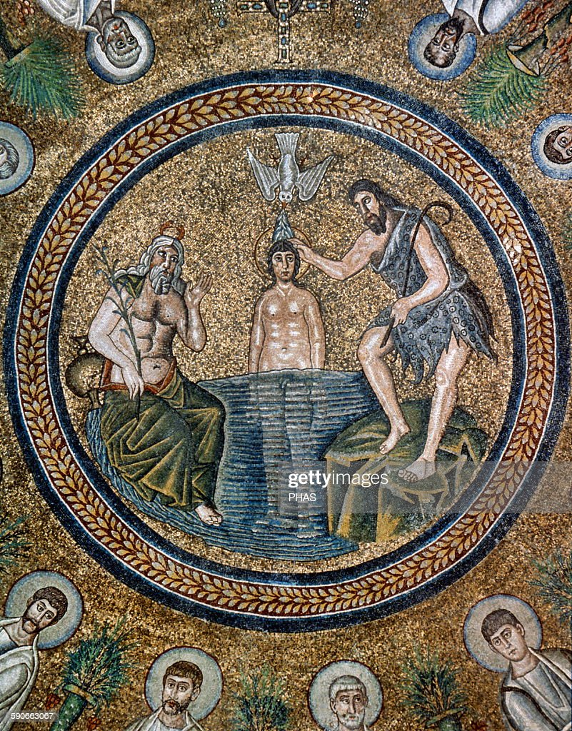 baptism of jesus pictures getty images