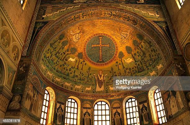 Italy Ravenna Classe Basilica Apollinare Mosaic Sheepherder Ad 547