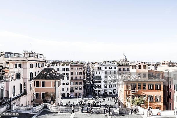 Italy, Rome, Spanisch Steps, Piazza di Spagna