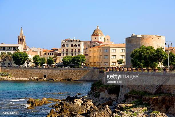 ITA Italy Sardinia Alghero The Catalan town of Alghero is located on the Northwest coast of Sardinia Known throughout the world for its stunning...