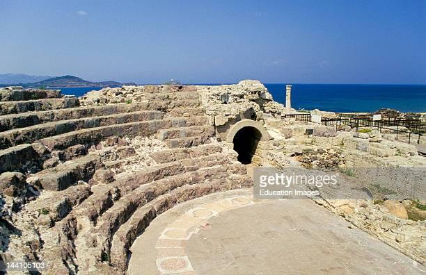 Italy Sardinia Nora Roman Amphitheater