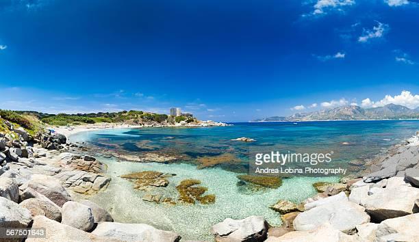 Italy, Sardinia, Villasimius, Fortezza Vecchia