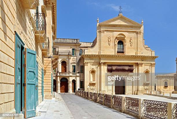 Italy Sicily Noto San Salvatore Church
