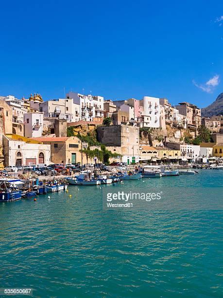 Italy, Sicily, Province of Trapani, Fishing village Castellammare del Golfo, Harbour