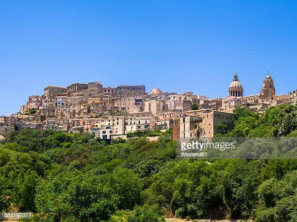 Italy, Sicily, Ragusa, View of Ragusa Ibla