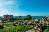 Italy Sicily Selinunte Archaeological Site