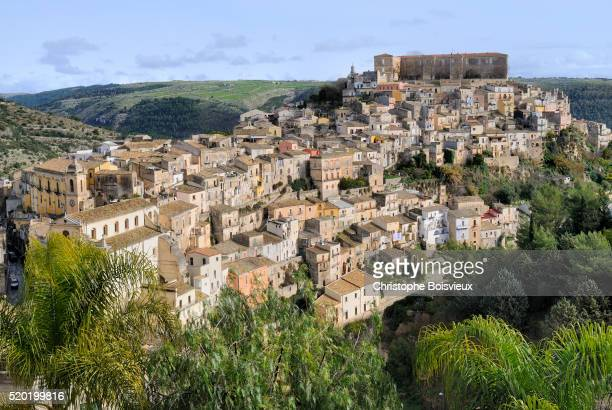 Italy, Sicily, World Heritage Site, Ragusa, Old Town (Ragusa Ibla)