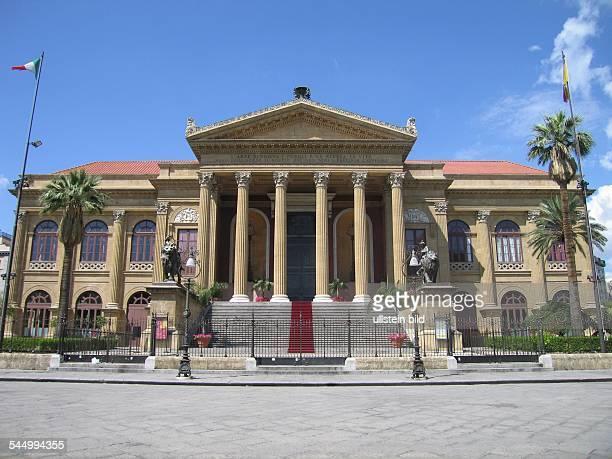 Italy Sizilien Sicilia Sicily Palermo Opera Teatro Massimo
