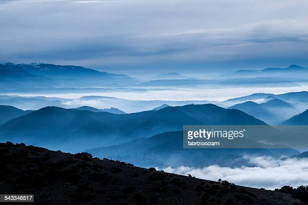 Italy, Terni, Scenic view of mountainous landscape