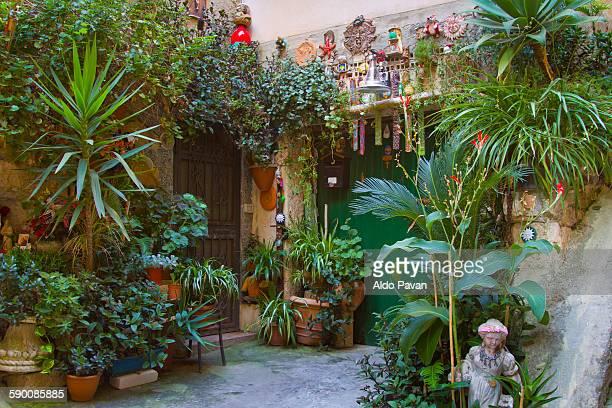 Italy, Tropea, garden in Largo Rota