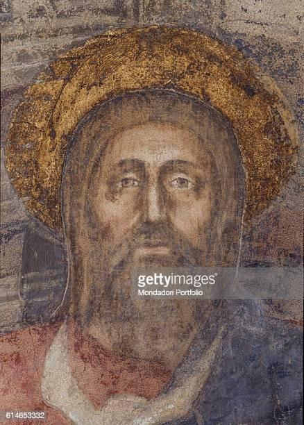 Italy Tuscany Florence Basilica di Santa Maria NovellaChrist's Face