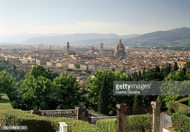 Italy, Tuscany, Florence, elevated view