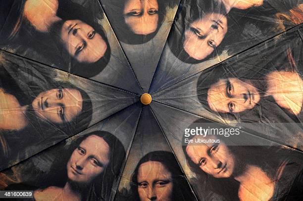 Italy Tuscany Florence Mona Lisa Umbrella