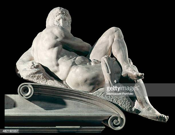Italy Tuscany Florence Saint Lawrence Cathedral Detail The day male nude