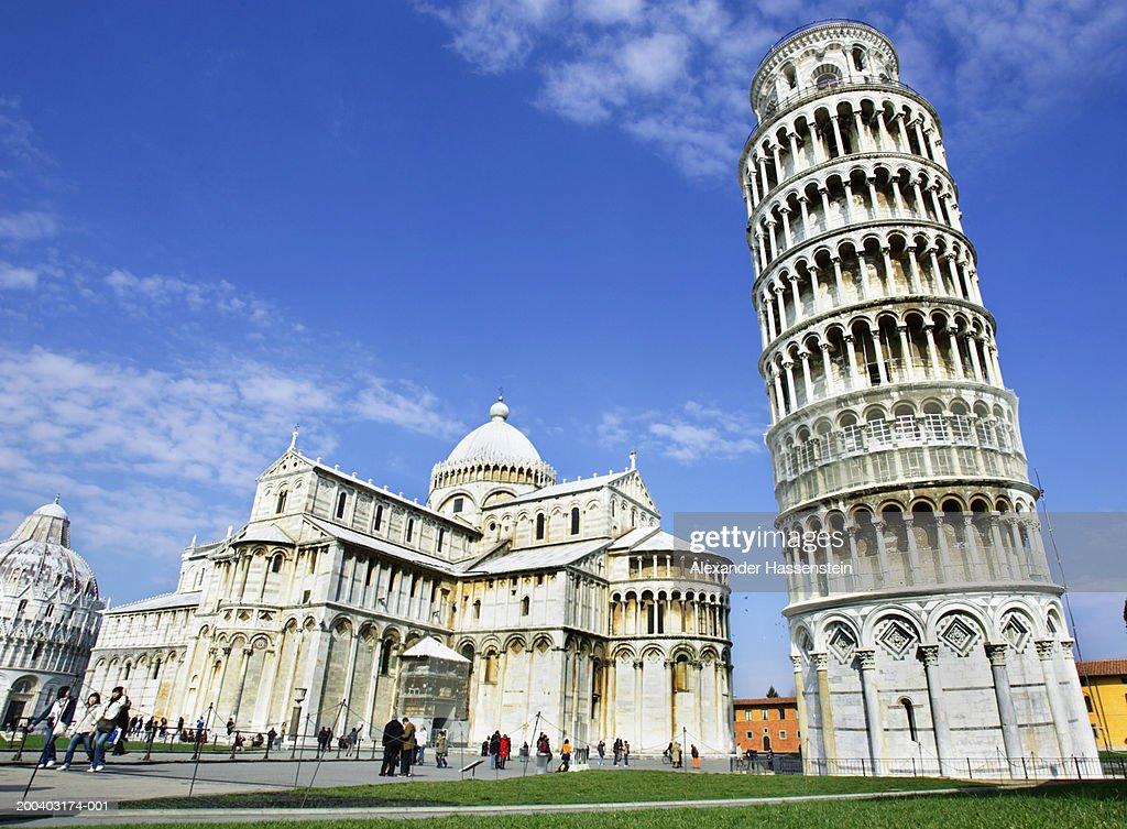 Italy, Tuscany, Leaning Tower of Pisa, Cathedral Santa Maria Assunta