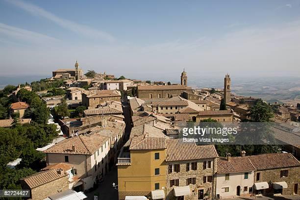 Italy. Tuscany. Montalcino.