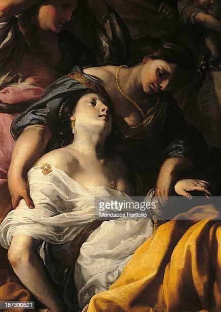 Italy Tuscany Prato Galleria di Palazzo degli Alberti All Death of a Saint among women