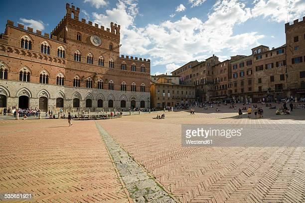 Italy, Tuscany, Siena, Piazza del Campo