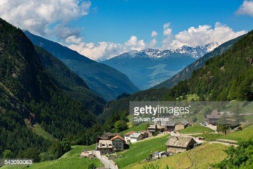 Italy, Valle D'Aosta, Valpelline Valley