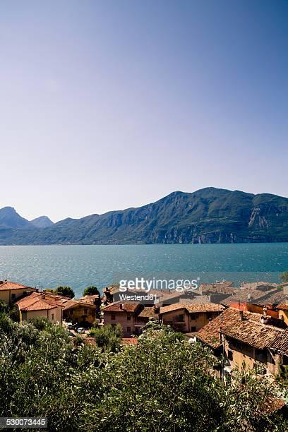 Italy, Veneto, Brenzone, Lake Garda, Castelletto di Brenzone