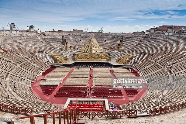 Italy, Veneto, Verona. The Arena Theater