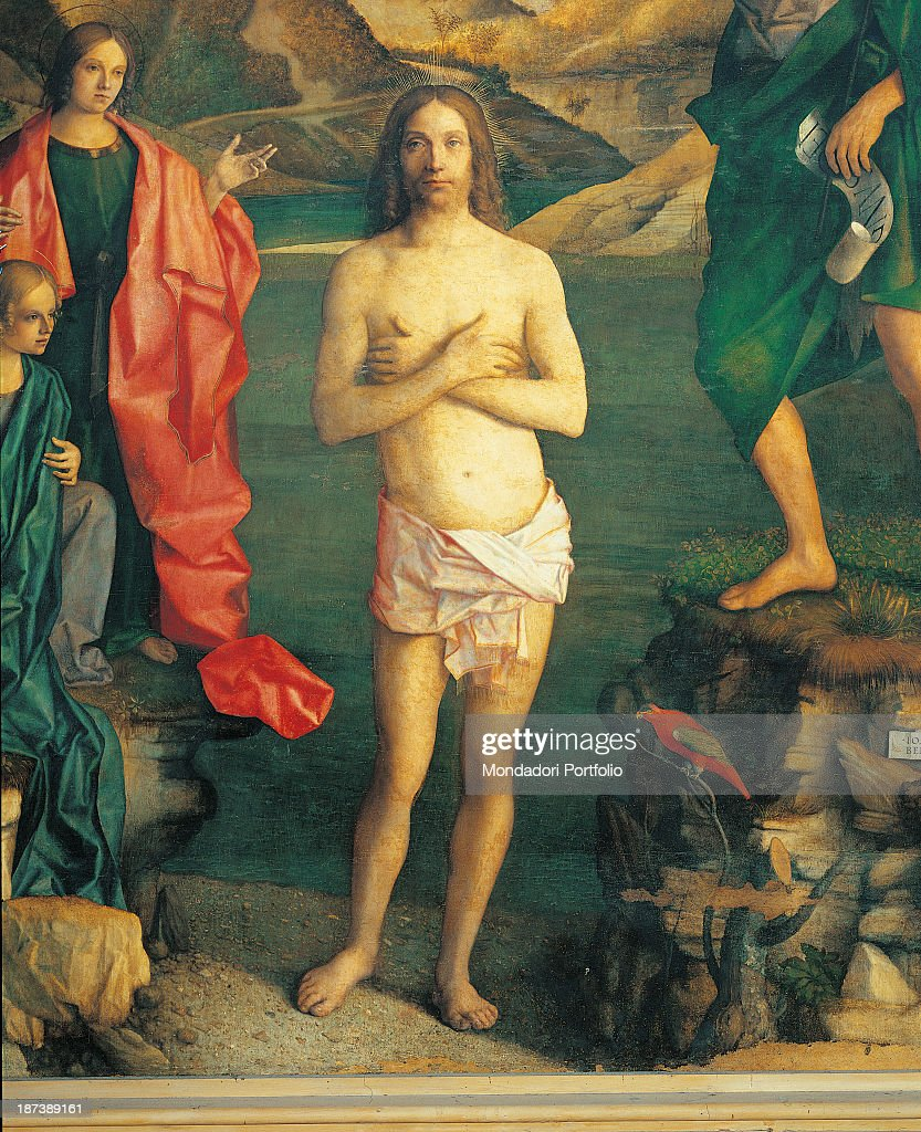 baptism of christ by bellini giovanni 16th century 1500 1502