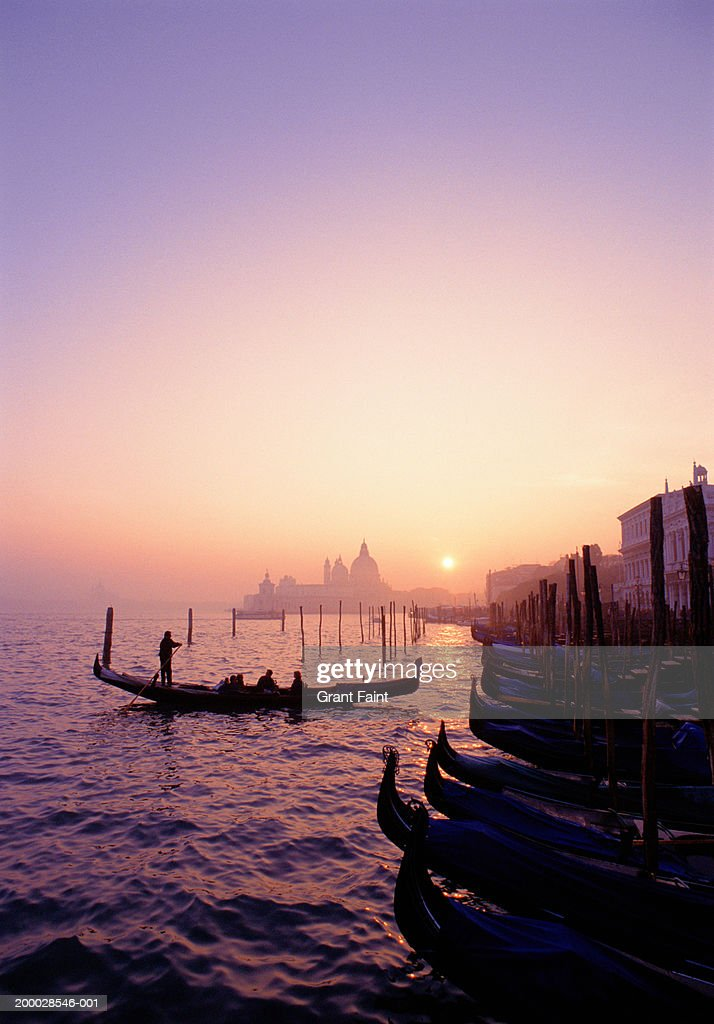 venice at sunset - photo #47