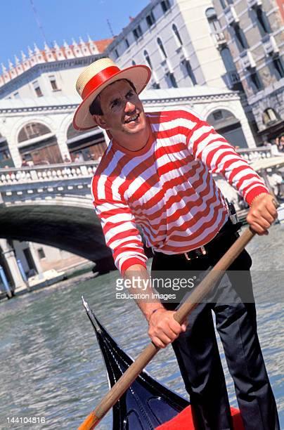 Italy Venice Gondolier