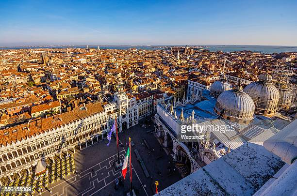 Italy, Venice, view over St. Marks Square