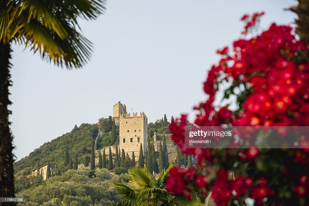 Italy, View of castle