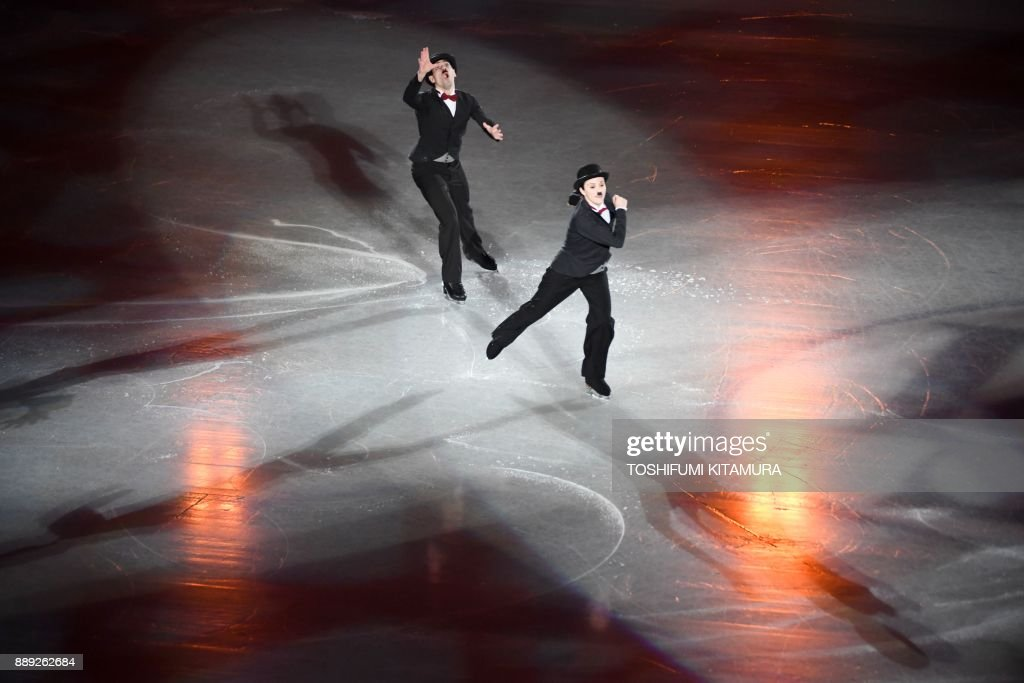 Анна Капеллини - Лука Ланоте / Anna CAPPELLINI - Luca LANOTTE ITA - Страница 10 Italys-anna-cappellini-and-luca-lanotte-perform-during-the-gala-at-picture-id889262684