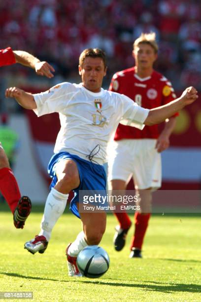 Italy's Antonio Cassano in action