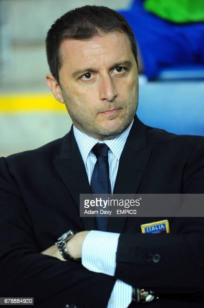Italy's coach Devis Mangia
