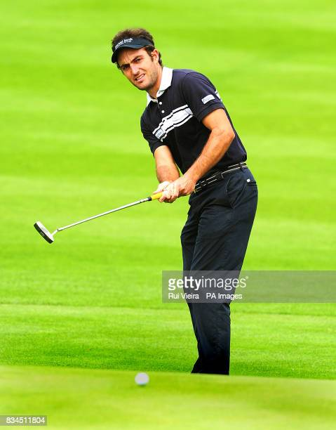 Italy's Edoardo Molinari during Round Three of the 2008 Celtic Manor Wales Open at the Celtic Manor Resort Newport