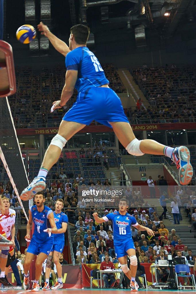 Italy v Belgium: FIVB World Championships
