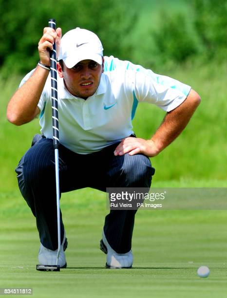 Italy's Francesco Molinari during Round Three of the 2008 Celtic Manor Wales Open at the Celtic Manor Resort Newport
